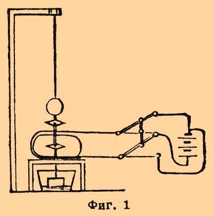 Схема телеграфа Шиллинга