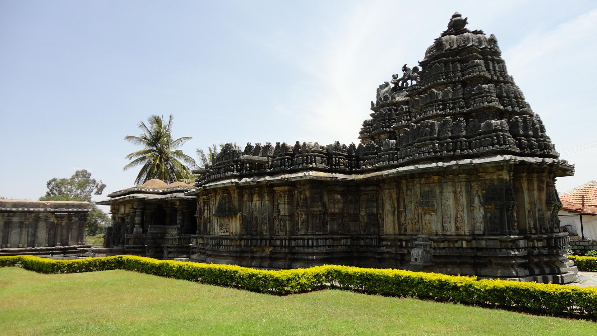 file buchesvara temple at koravangala in the hassan