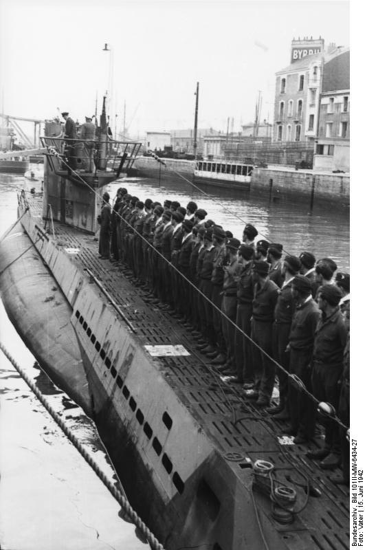 Bundesarchiv Bild Ii Mw C St Nazaire C U Boot Einlaufend