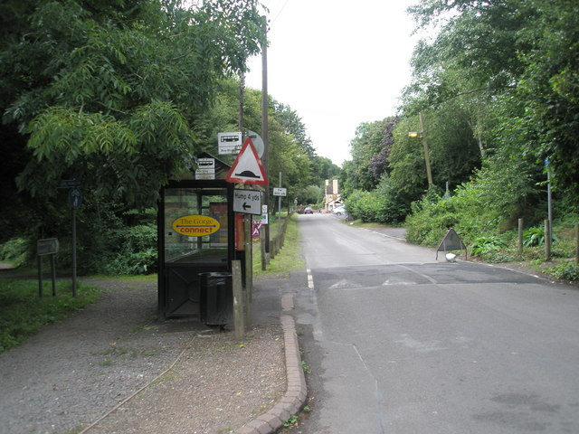File:Bus shelter outside the Coalport Museums - geograph.org.uk - 1457487.jpg