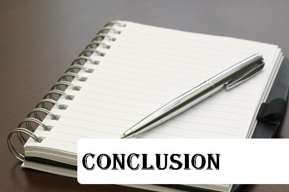Statements and conclusion
