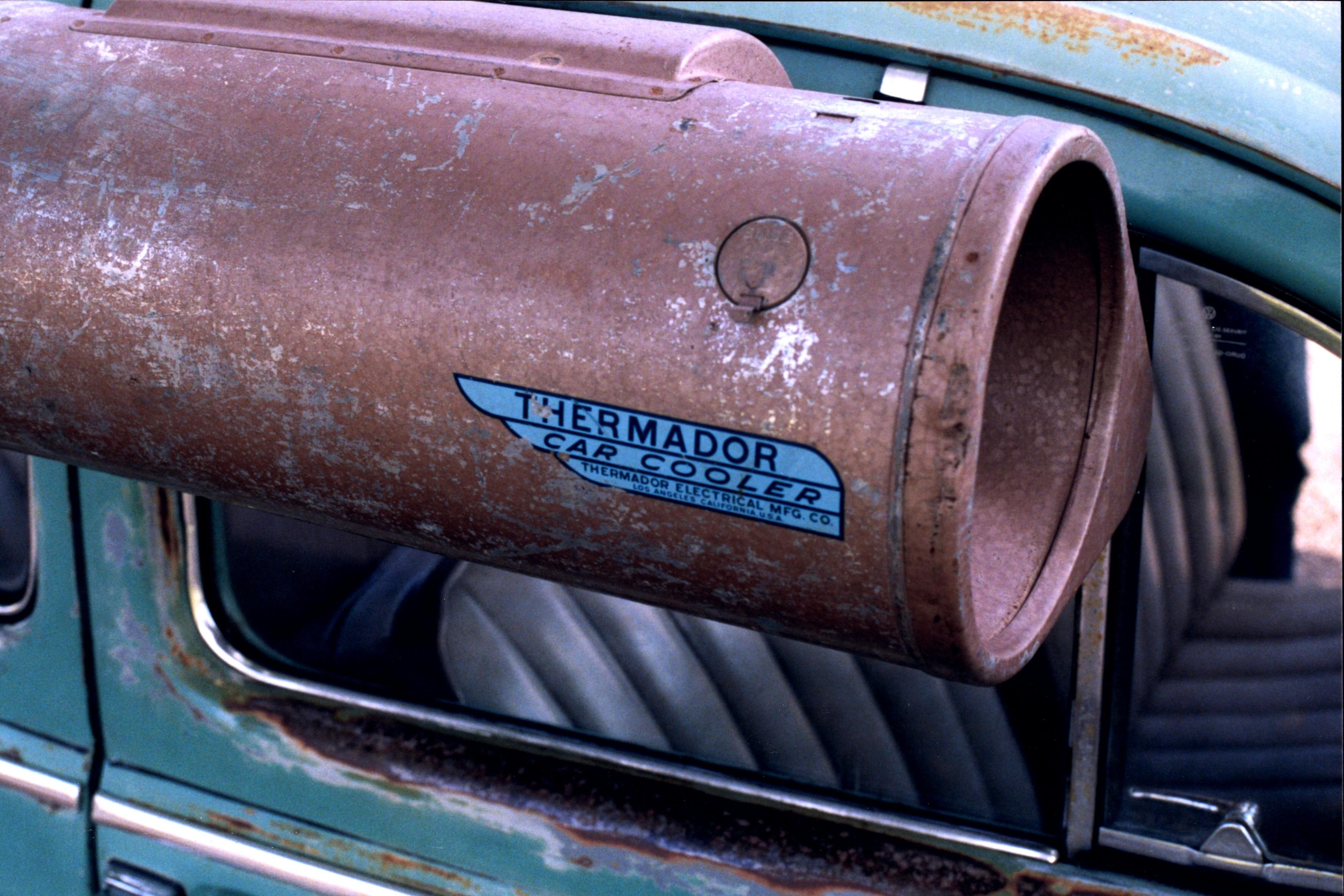 File Car Cooler On 1962 Bug Jpg Wikimedia Commons