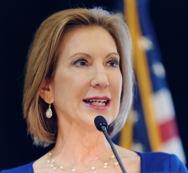 Carly fiorina speaking
