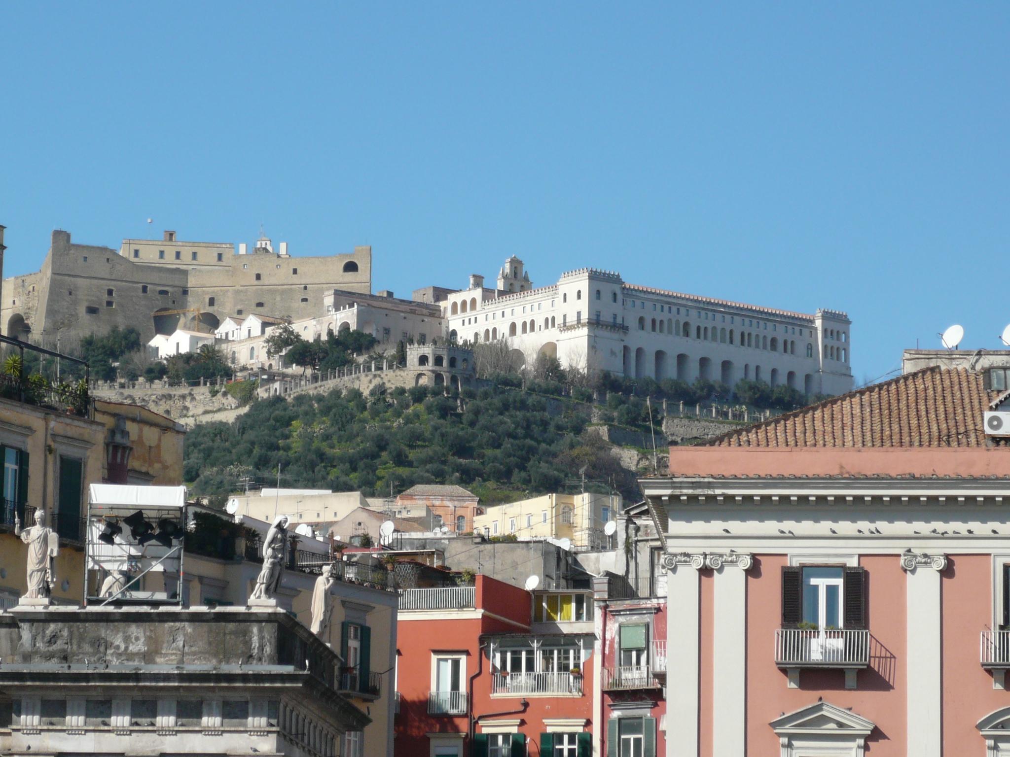 """Résultat de recherche d'images pour """"Sant'Elmo Castle Naples"""""""