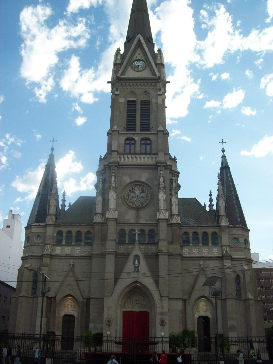 File Catedral De Los Santos Pedro Y Cecilia Mar Del Plata