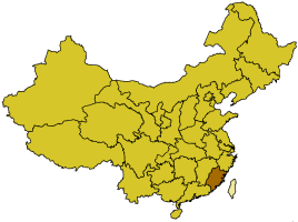 China provinces fujian