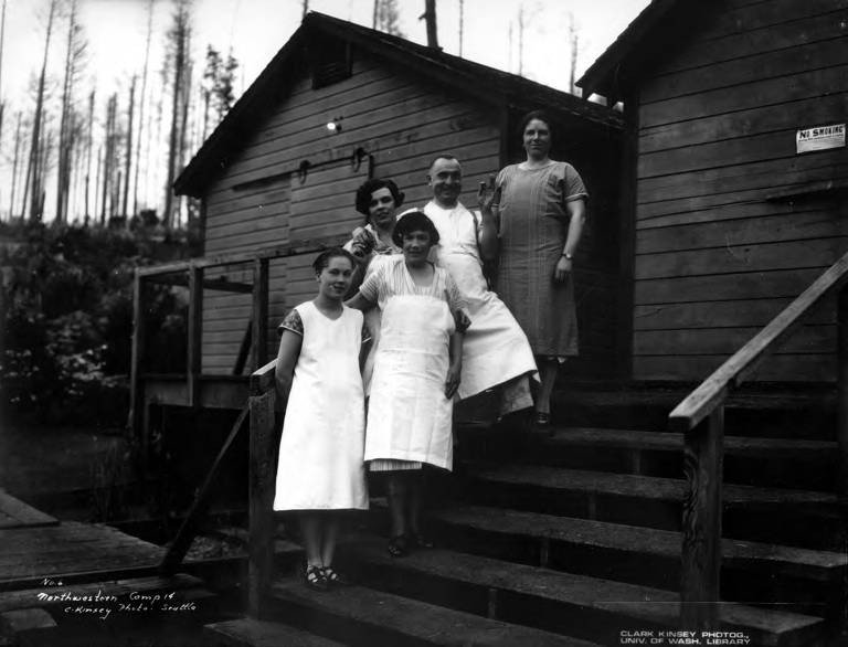 File:Cook and waitresses, Northwest Door Company, Oregon, ca 1914 (KINSEY 2452).jpeg