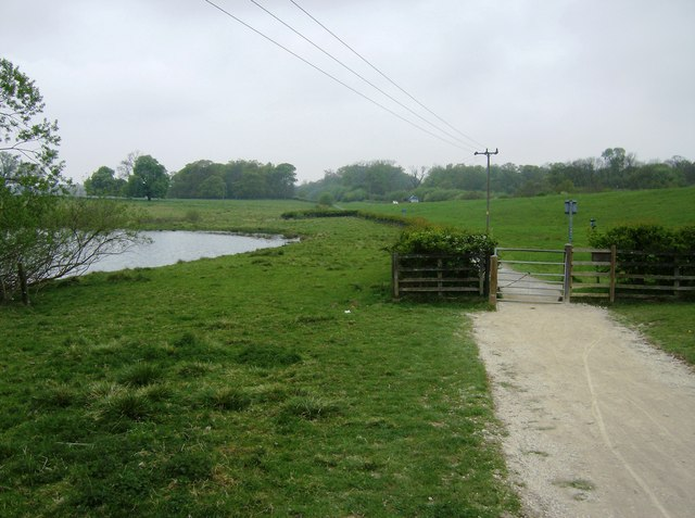 Cycle path round Rutland Water - geograph.org.uk - 456907