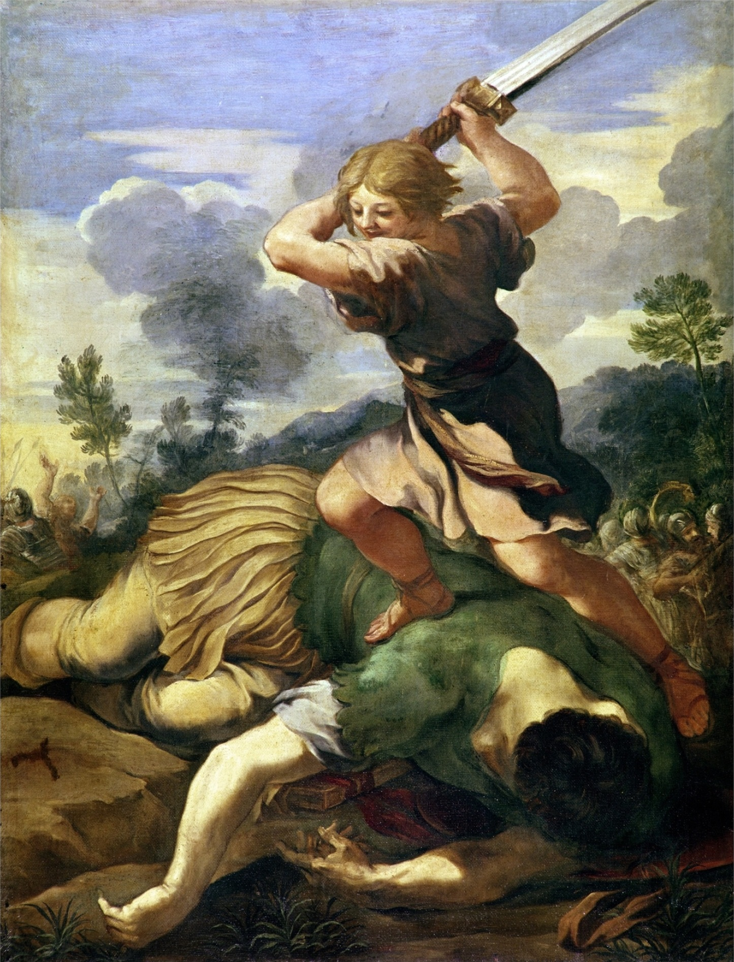 David and goliath renaissance painting