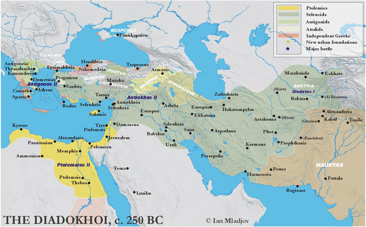 the hellenistic kingdoms