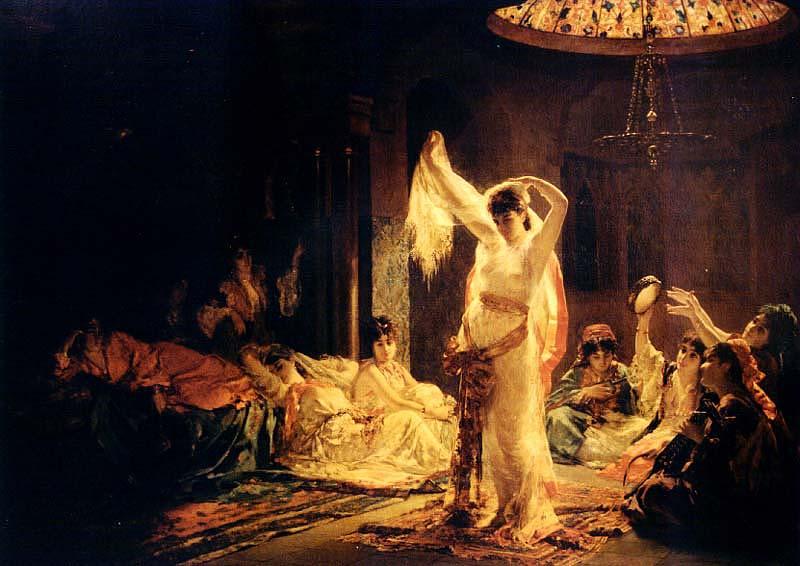Edouard Frédéric Wilhelm Richter - Distração do sultão