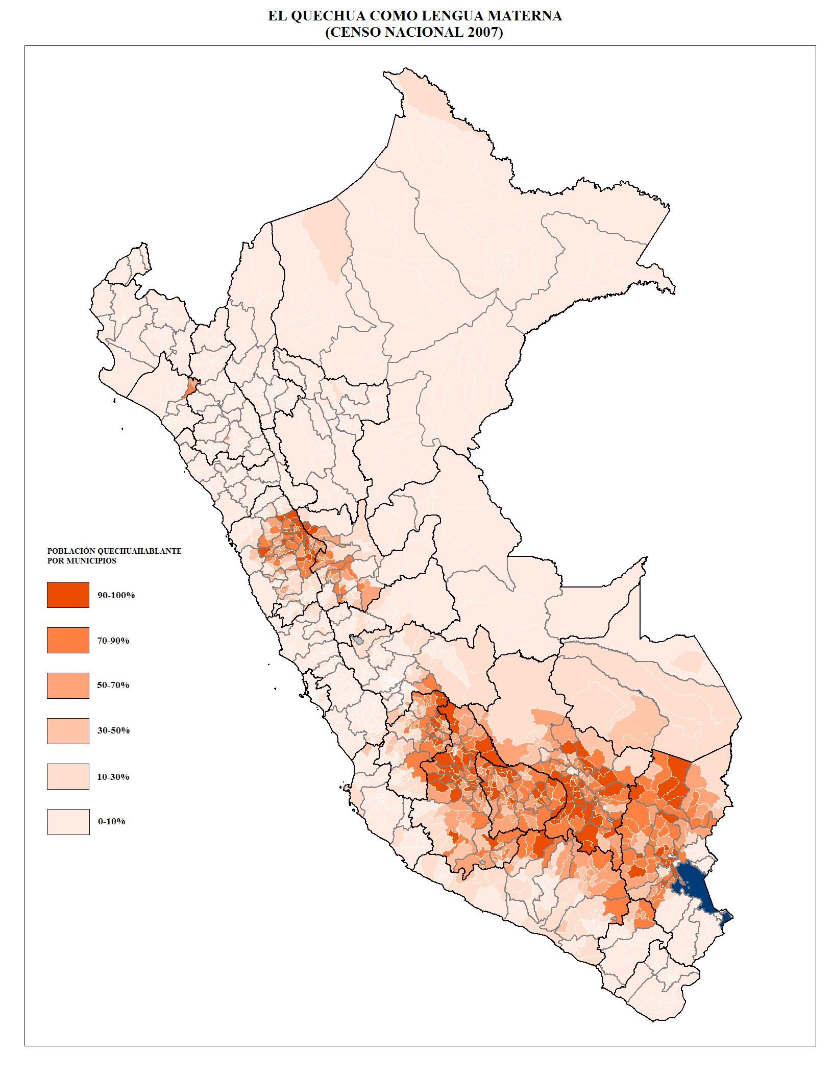 Languages of Peru - Wikipedia