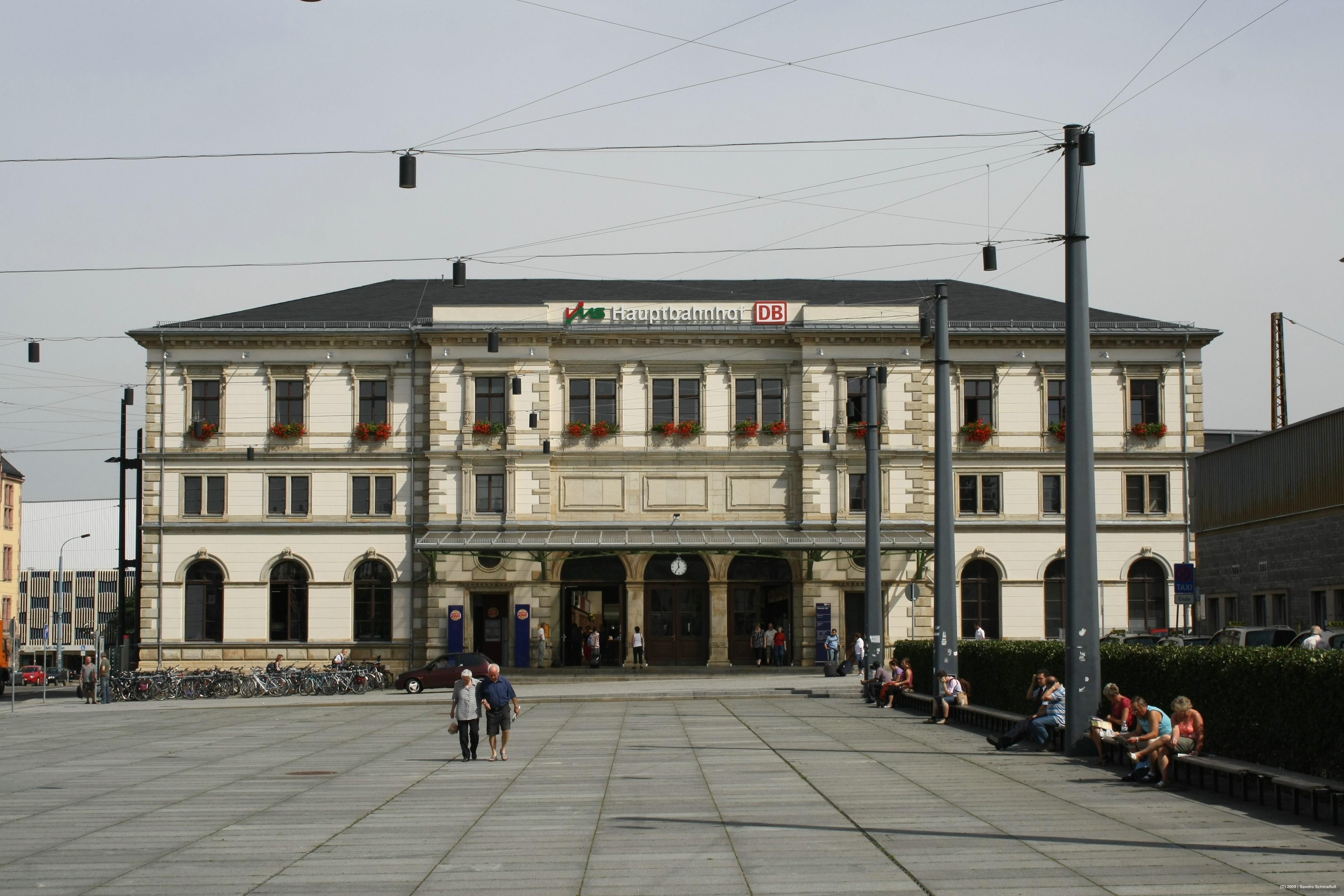 chemnitz térkép Chemnitz Hauptbahnhof – Wikipédia
