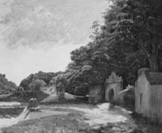 Entrada do convento da Penha