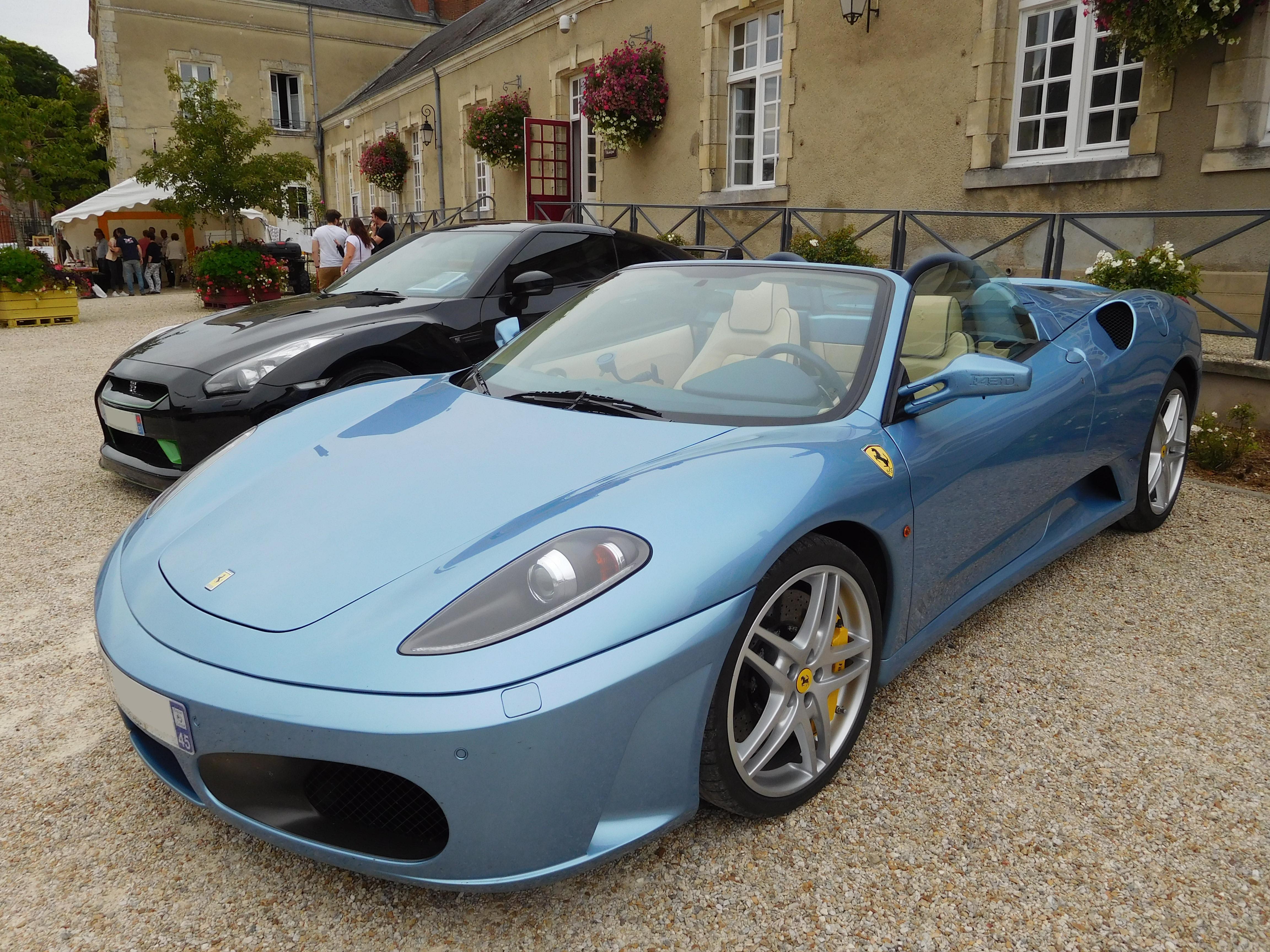 File Ferrari F430 Spider Bleu Avio Jpg Wikimedia Commons