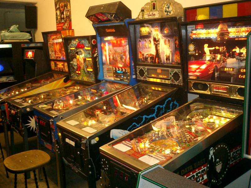Video Spielautomaten 80er