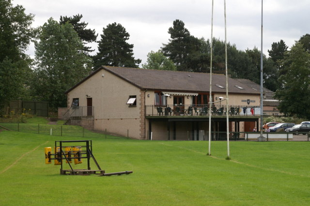 FileForfar Rugby Club Clubhouse Geographorguk