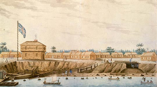 Fort York 1804 by Sempronius Stretton