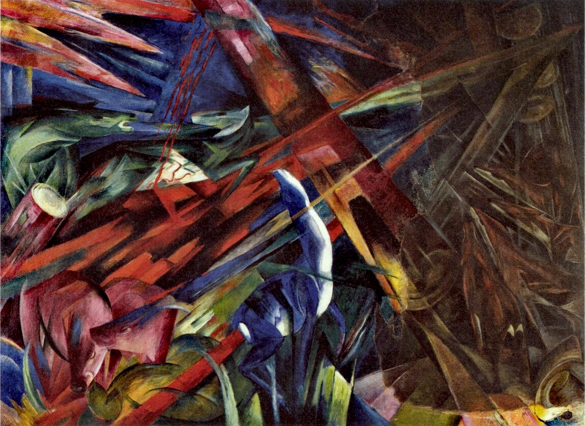 Art History Franz Marc 1880 1916