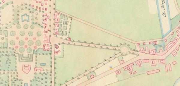 Kobenhavn Kort Over Frederiksberg Have Og Sondermarken