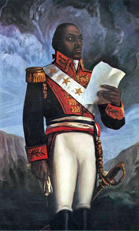 Depiction of Toussaint Louverture