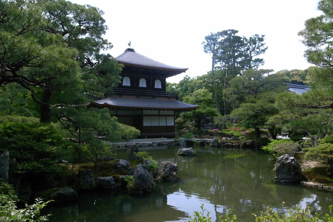 File Ginkakuji Temple In Kyoto Japan Jpg Wikimedia Commons