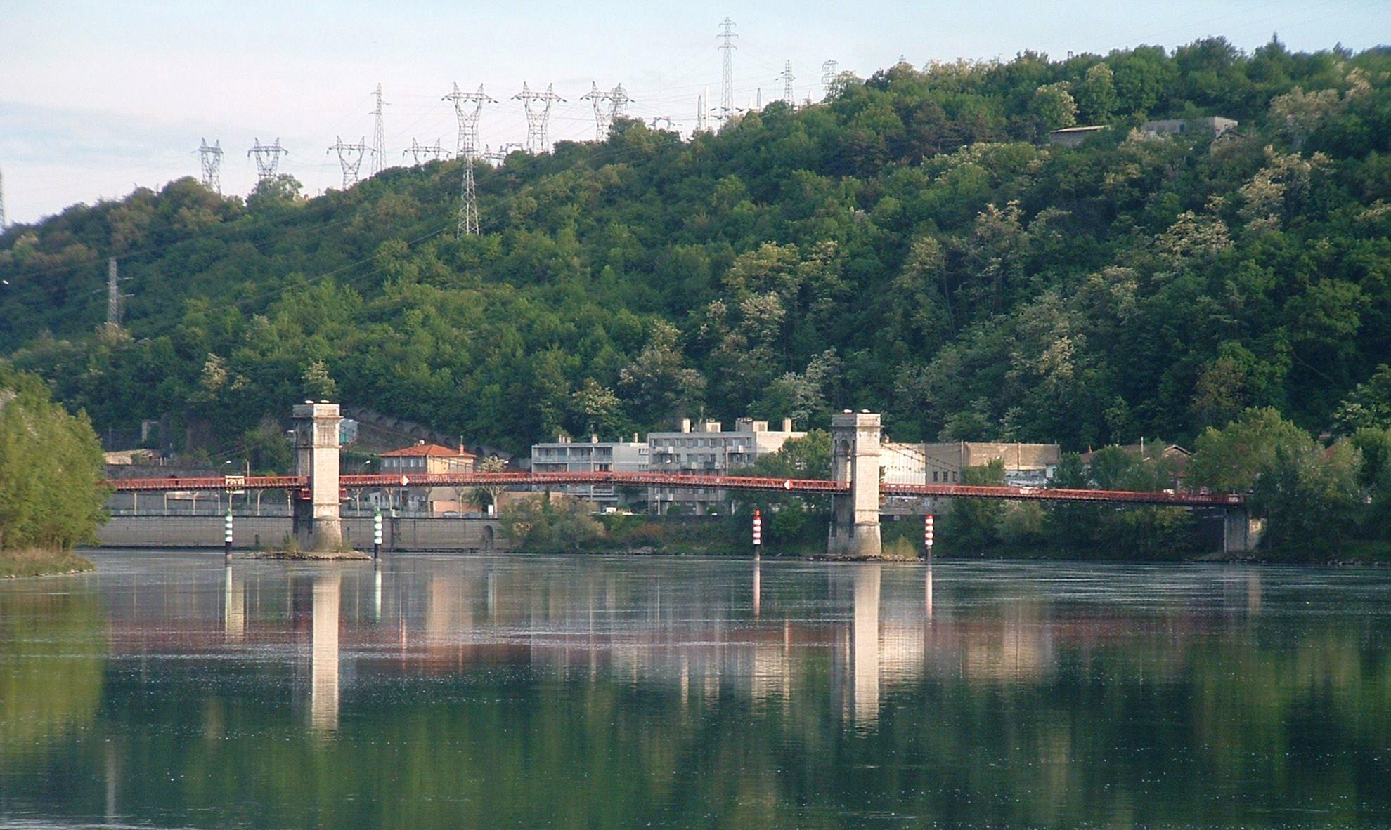 Chasse-sur-Rhone France  city pictures gallery : Givors Pont de Chasse sur le Rhône Ensemble Wikimedia ...