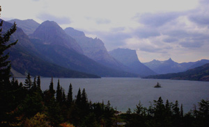Wild Goose Island Overlook, Montana