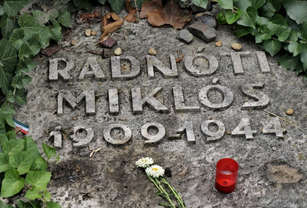 Miklos Radnoti Poems File Gravestone of Miklos Radnoti P8270236 1000 Jpg
