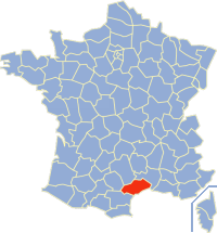 Communes of the Hérault department