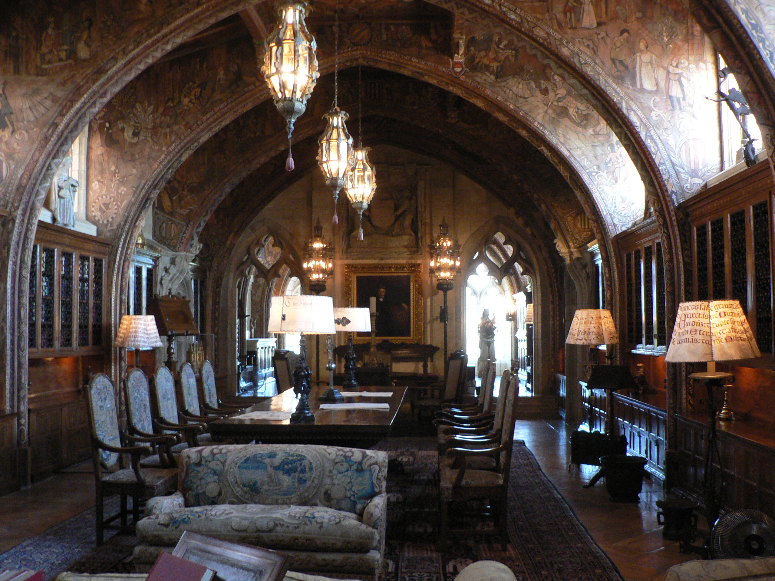 Hearst Castle Library 2560 x 1920