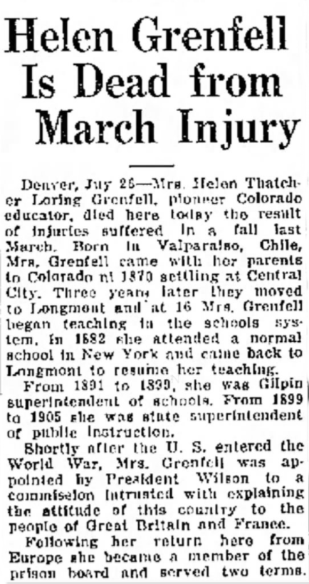 File:Helen Loring Grenfell (1862-1935) obituary in the Greeley Daily