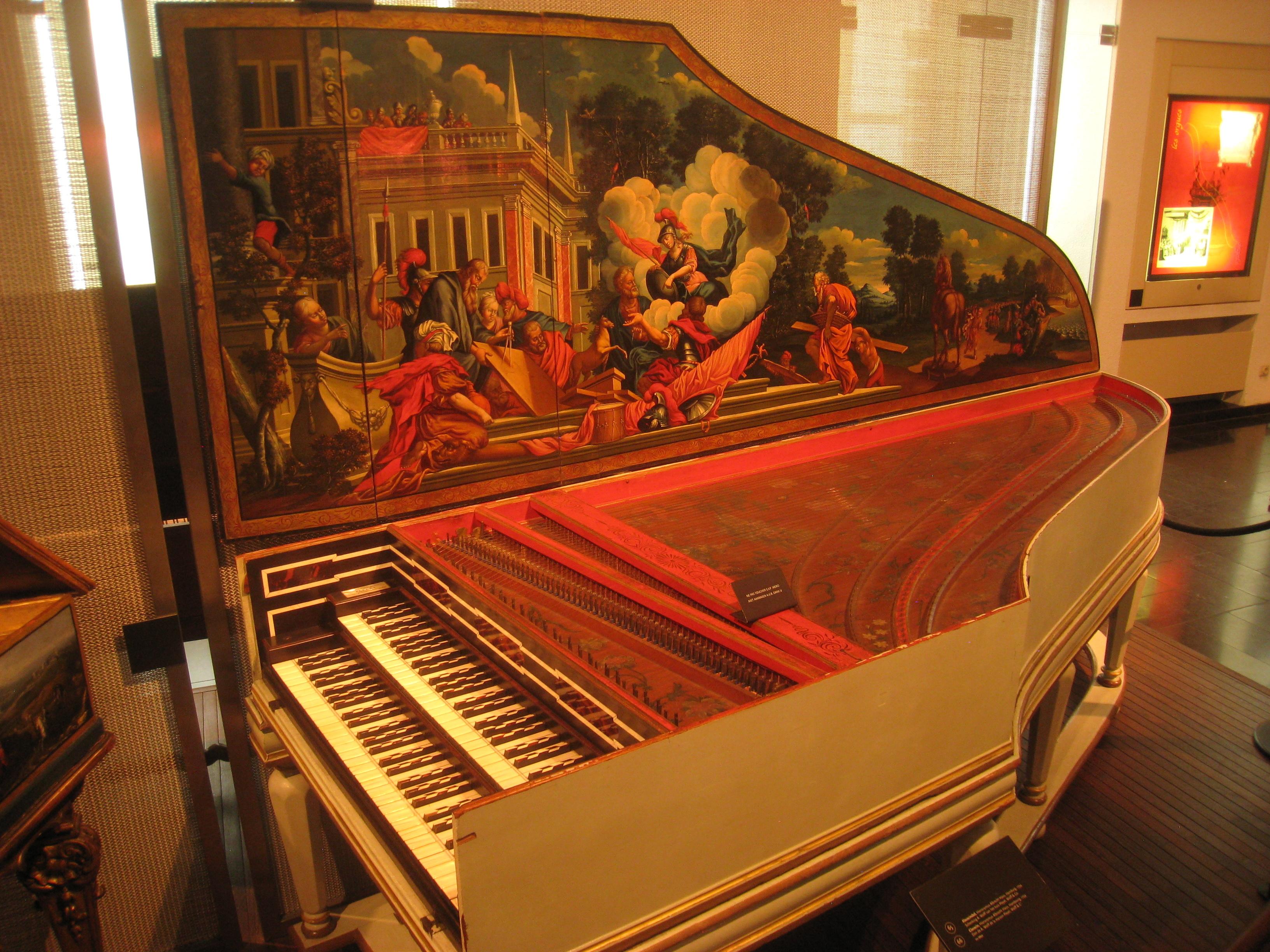 Clavicembalo di Hieronymus Albrecht Hass, custodito nel Museo della Musica della città