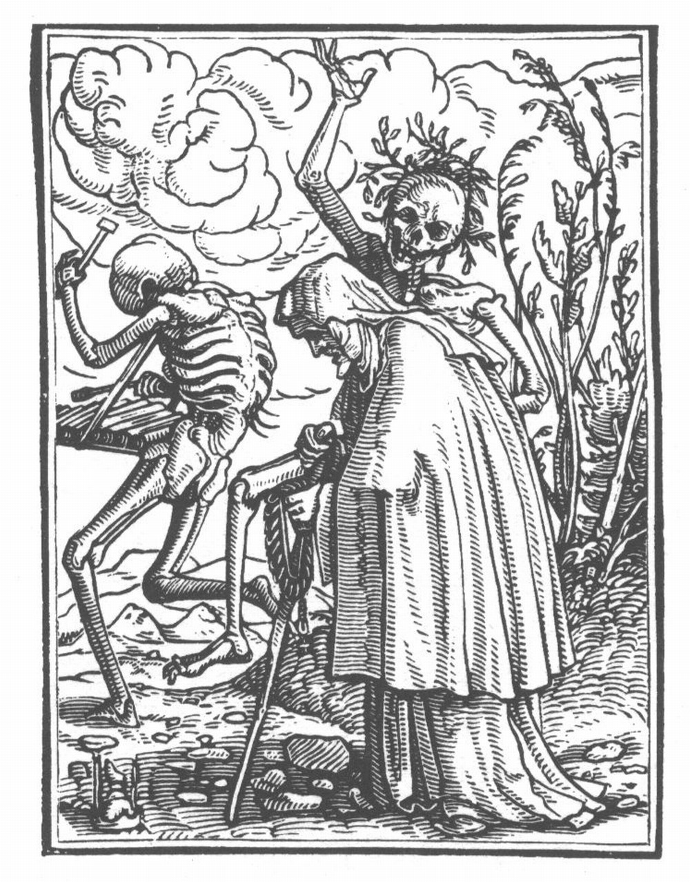 Black and White: Hans Holbein's Totentanz
