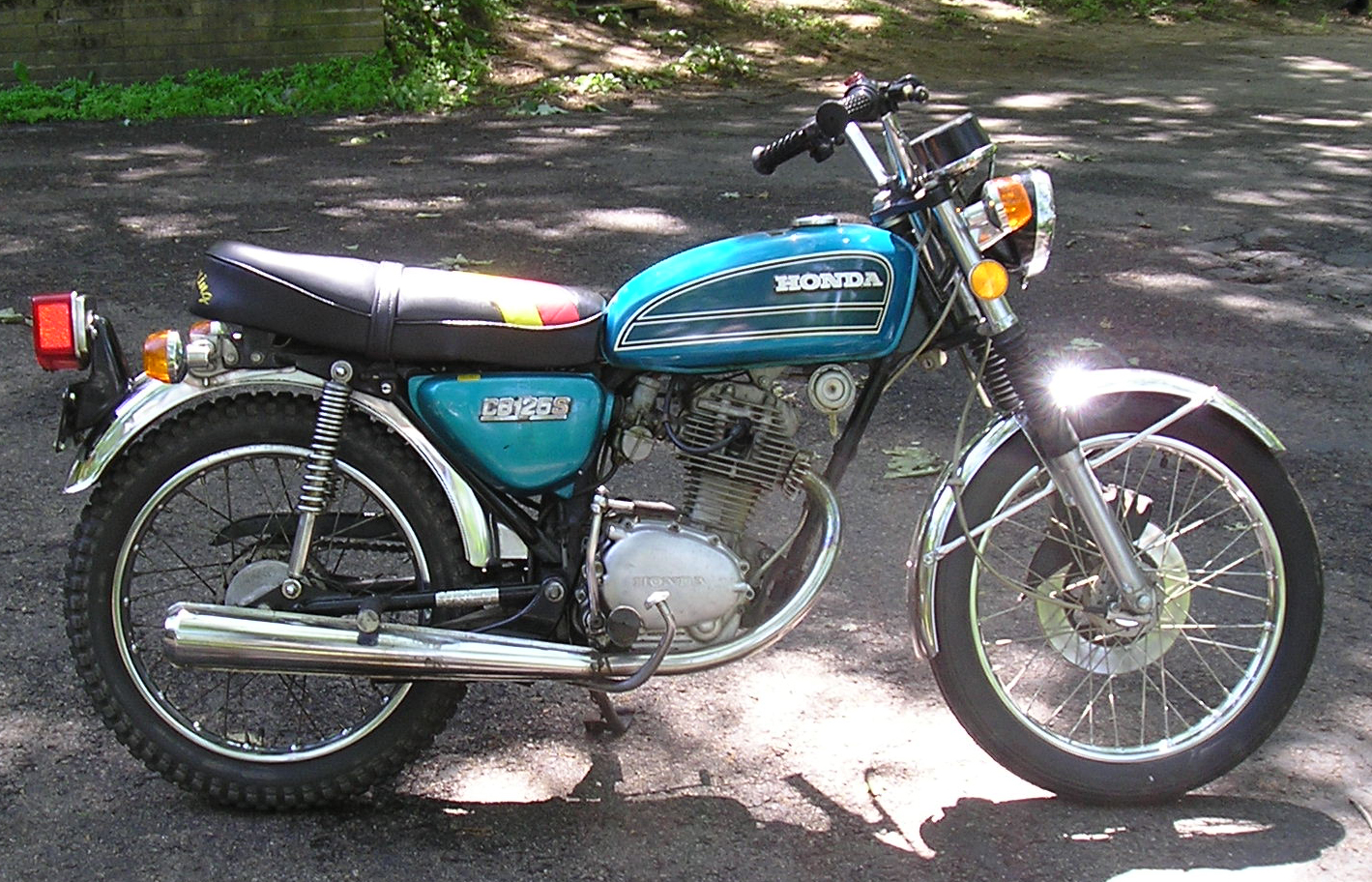 Honda CB125 - Wikipedia on