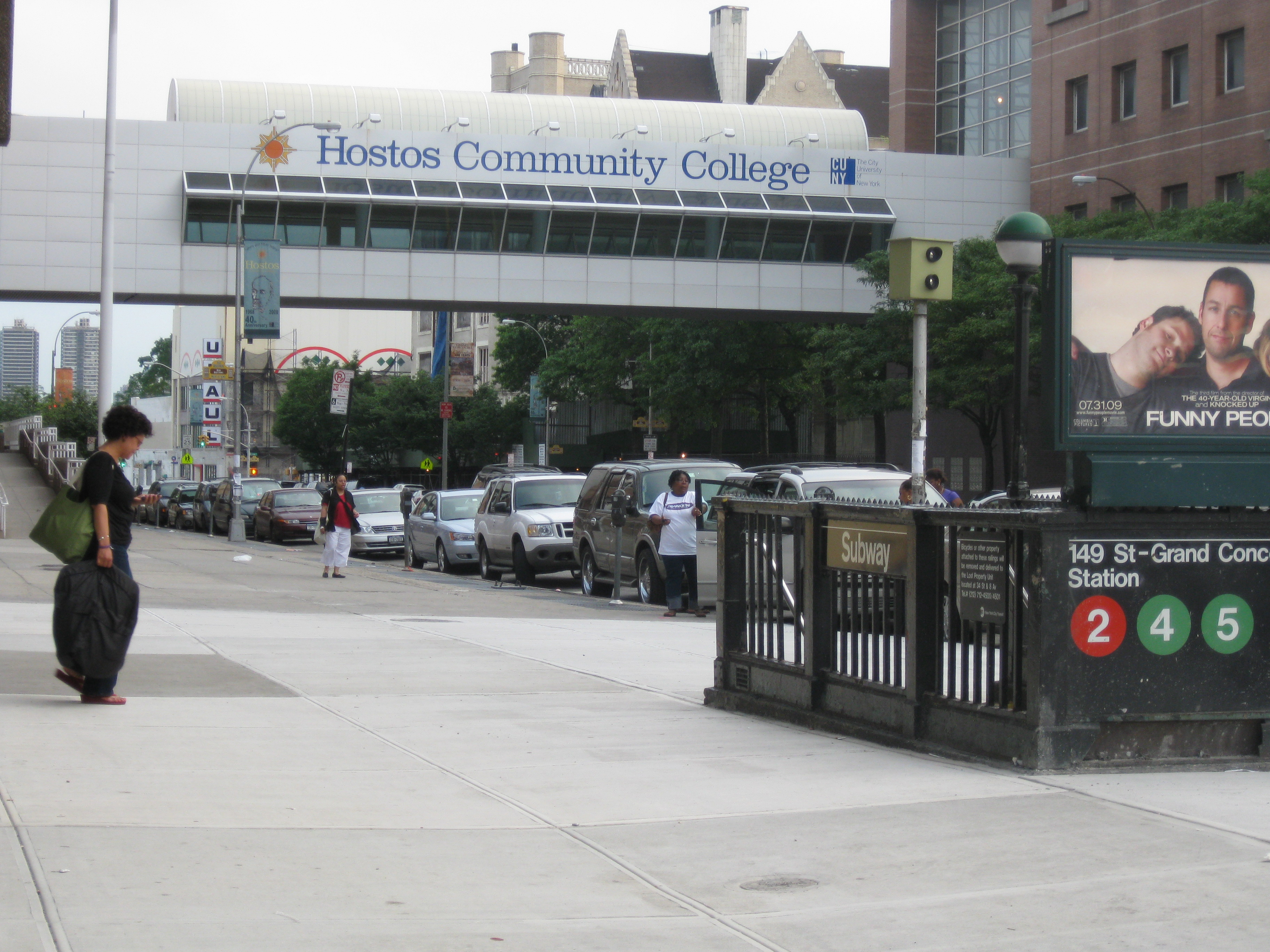 Hostos Campus Map.File Hostos Community College Pedestrian Walkway Jpg Wikimedia Commons