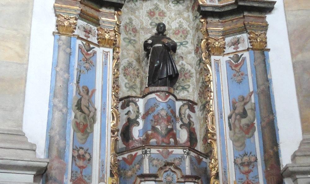 Resultado de imagen para altar iglesia nossa senhora do rosario dos pretos