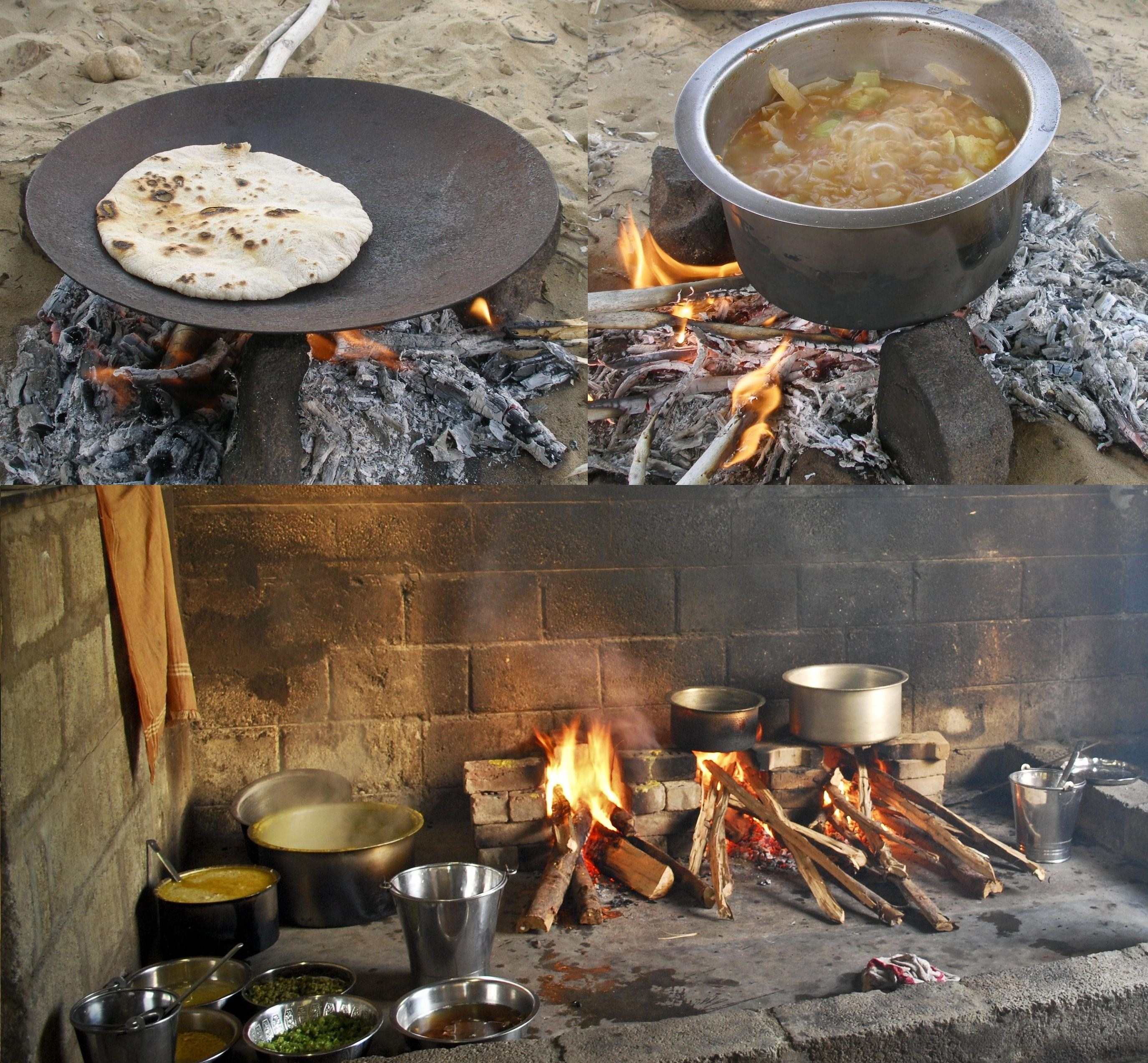 File indian kitchens outdoor and indoor rajasthan and for Cuisine outdoor