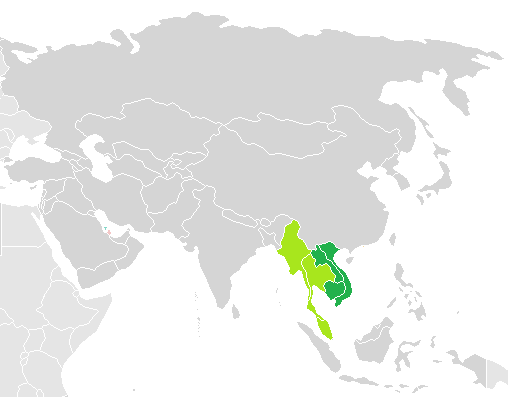 Karta Indien Thailand.Indokina Wikipedia