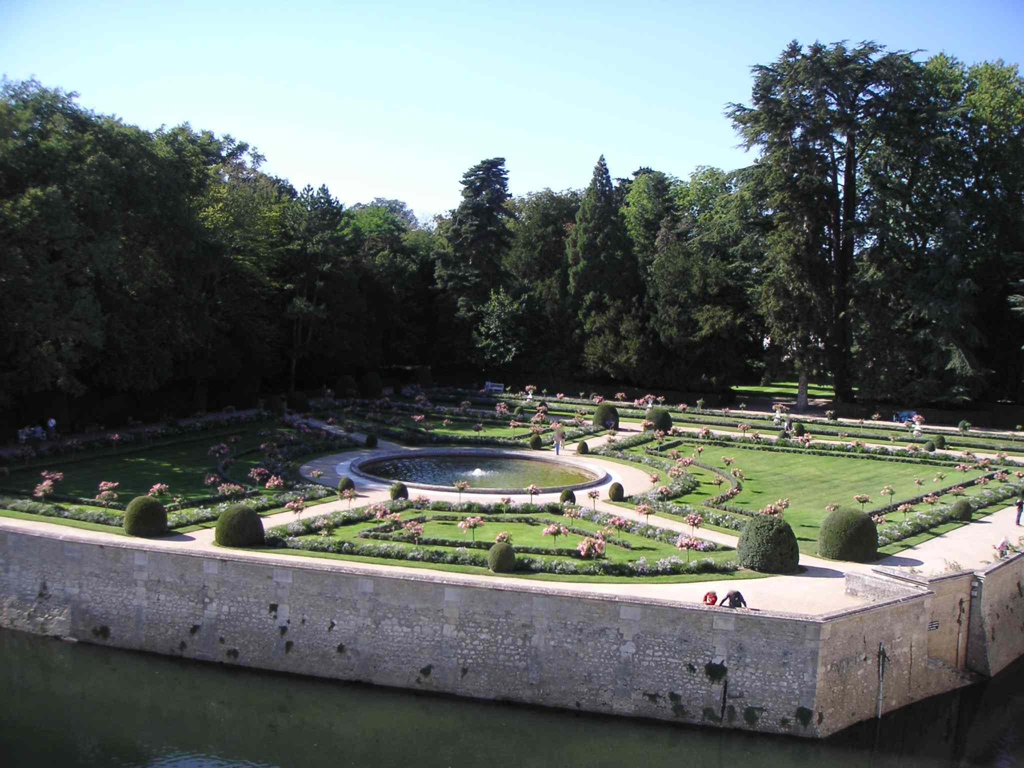 Mon blog culturelle le ch teau de chenonceau for Les jardin de catherine