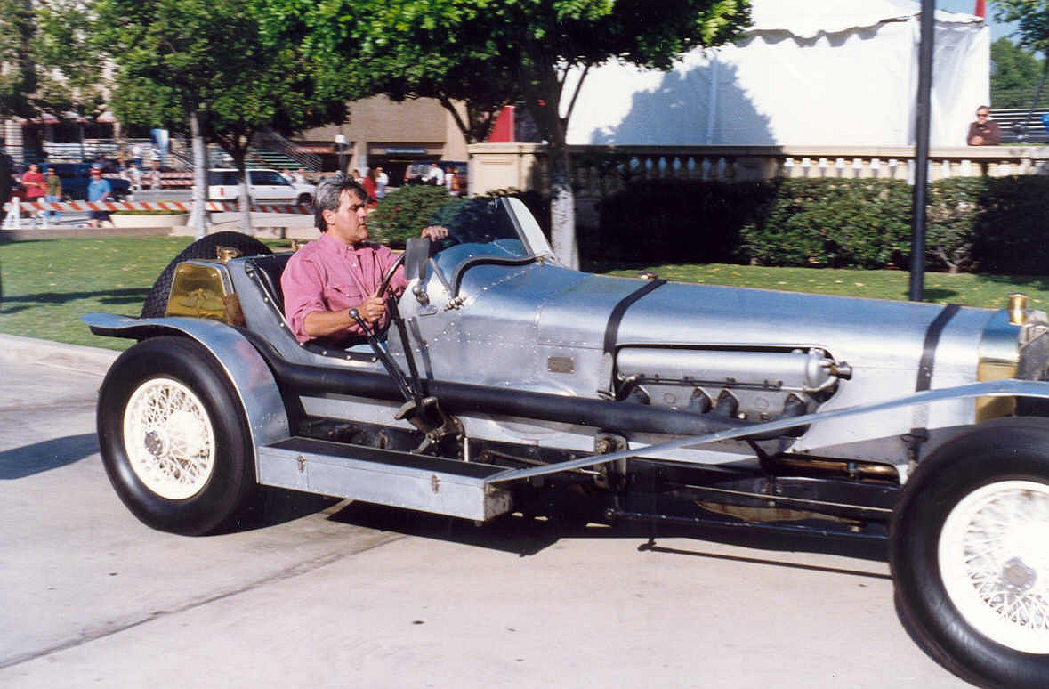 Jay leno car collection Celebrity motors