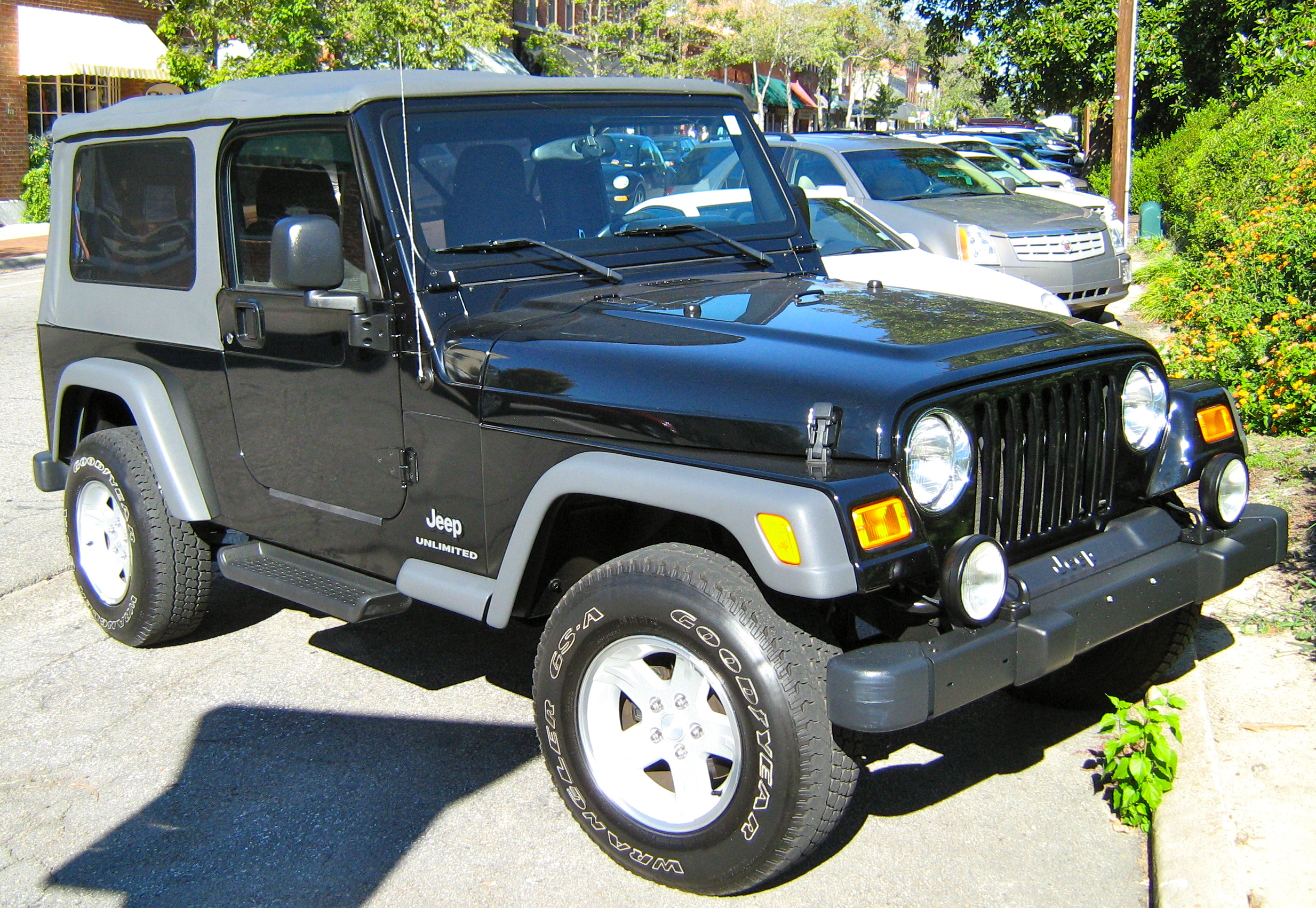 Jeep Tj Soft Top U003eu003e File:Jeep TJ Unlimited Black Soft Top SOP