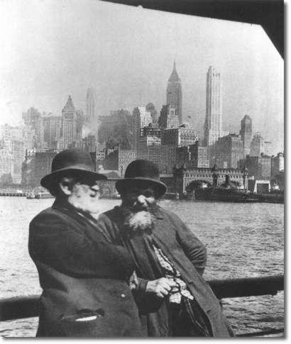 Migrantes judíos. ca. 1920.