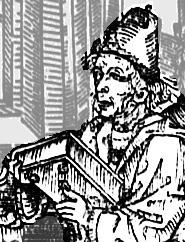 Depiction of Juan de Mena