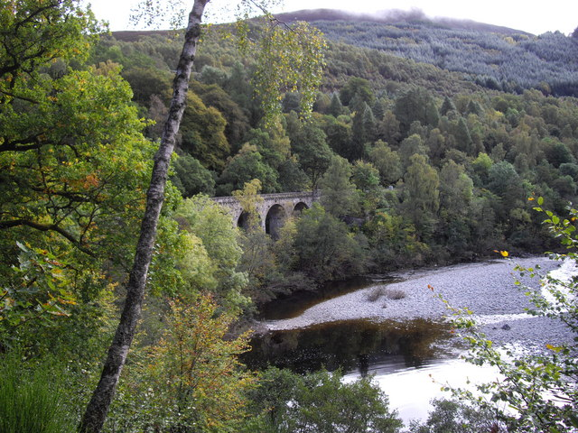 Killiecrankie Viaduct - geograph.org.uk - 1588242