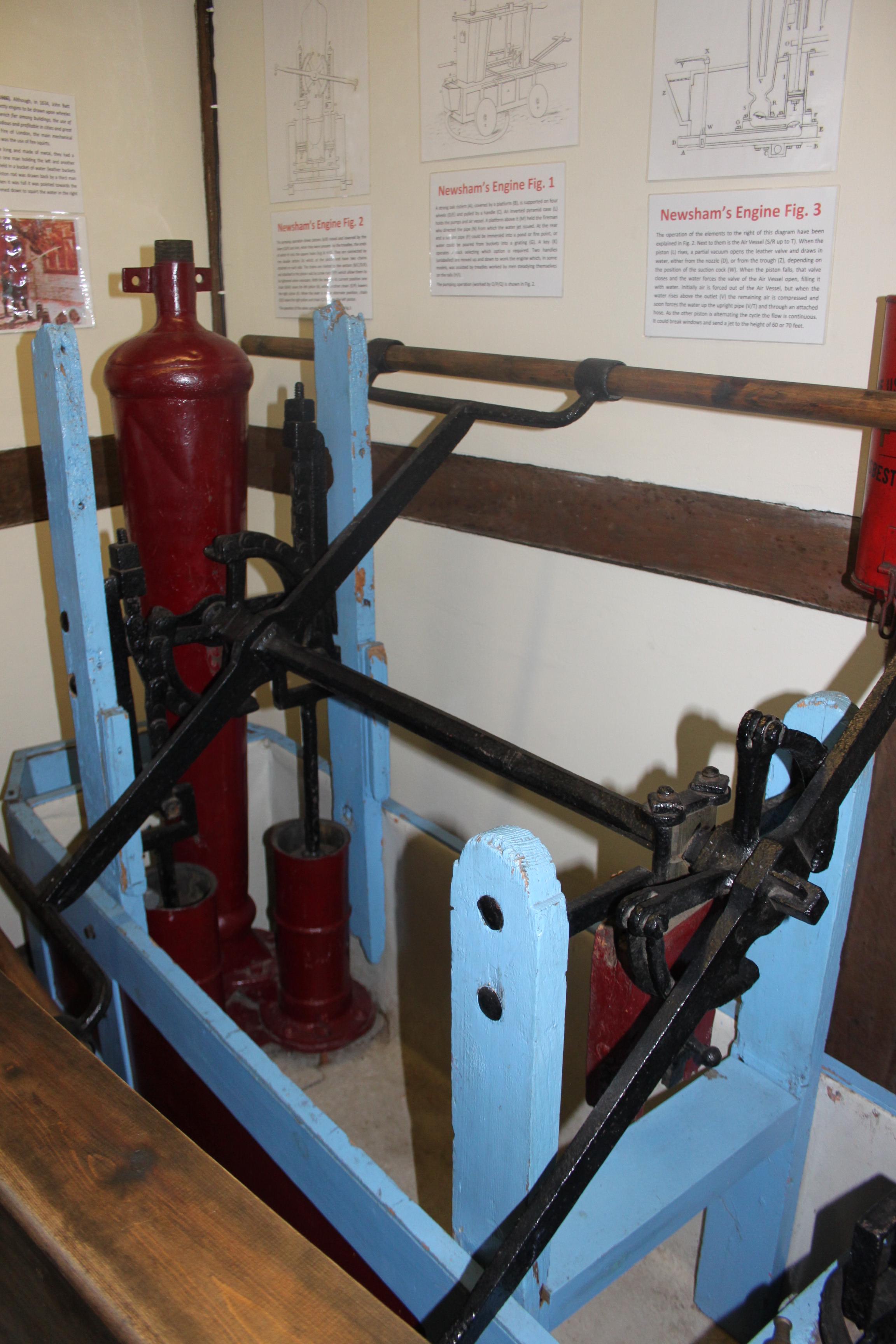 Fileking Johns Hunting Lodge Axbridge Old Fire Engine Diagram