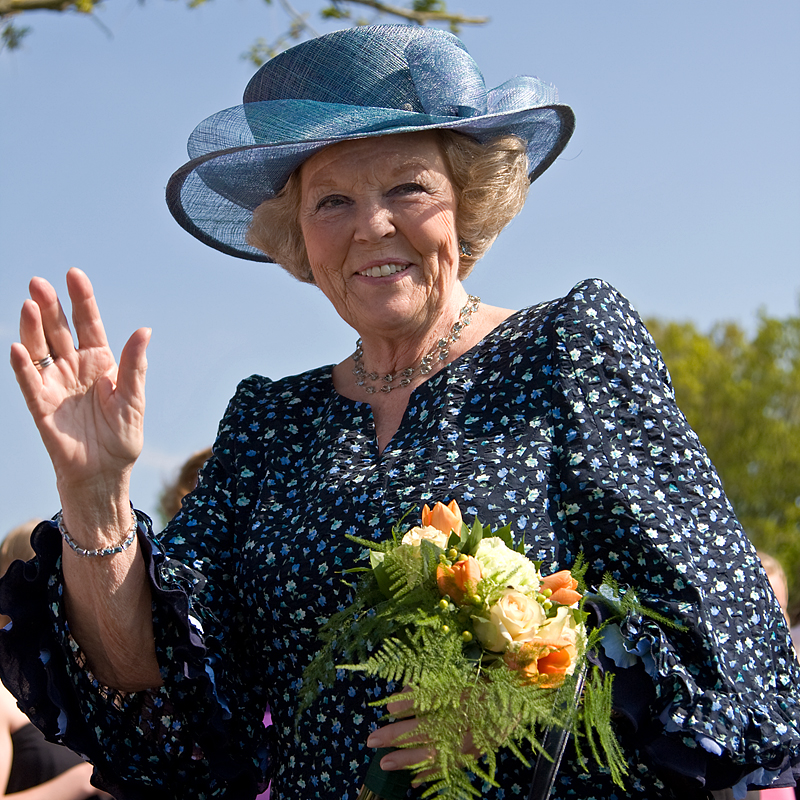 Emiel Ketelaar: Her Majesty Queen Beatrix of the Netherlands in Vries