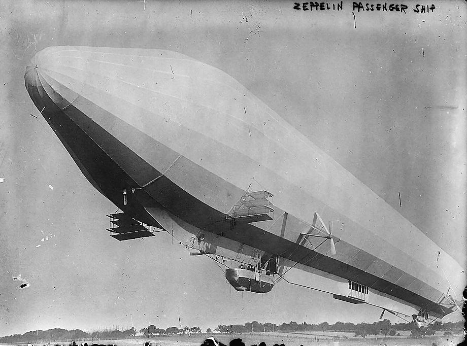 Lz7 passenger zeppelin enhanced