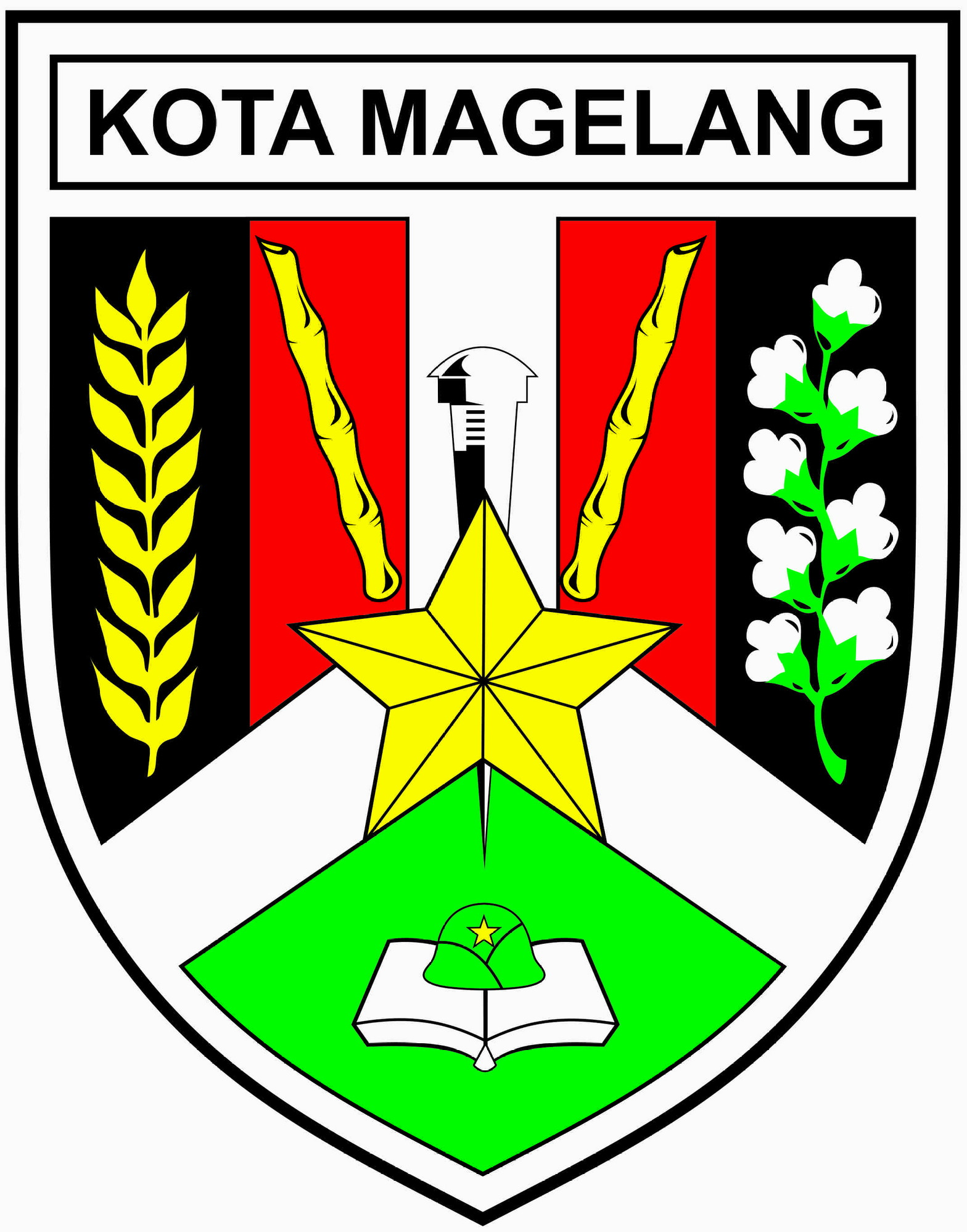 Official seal of City of Magelang