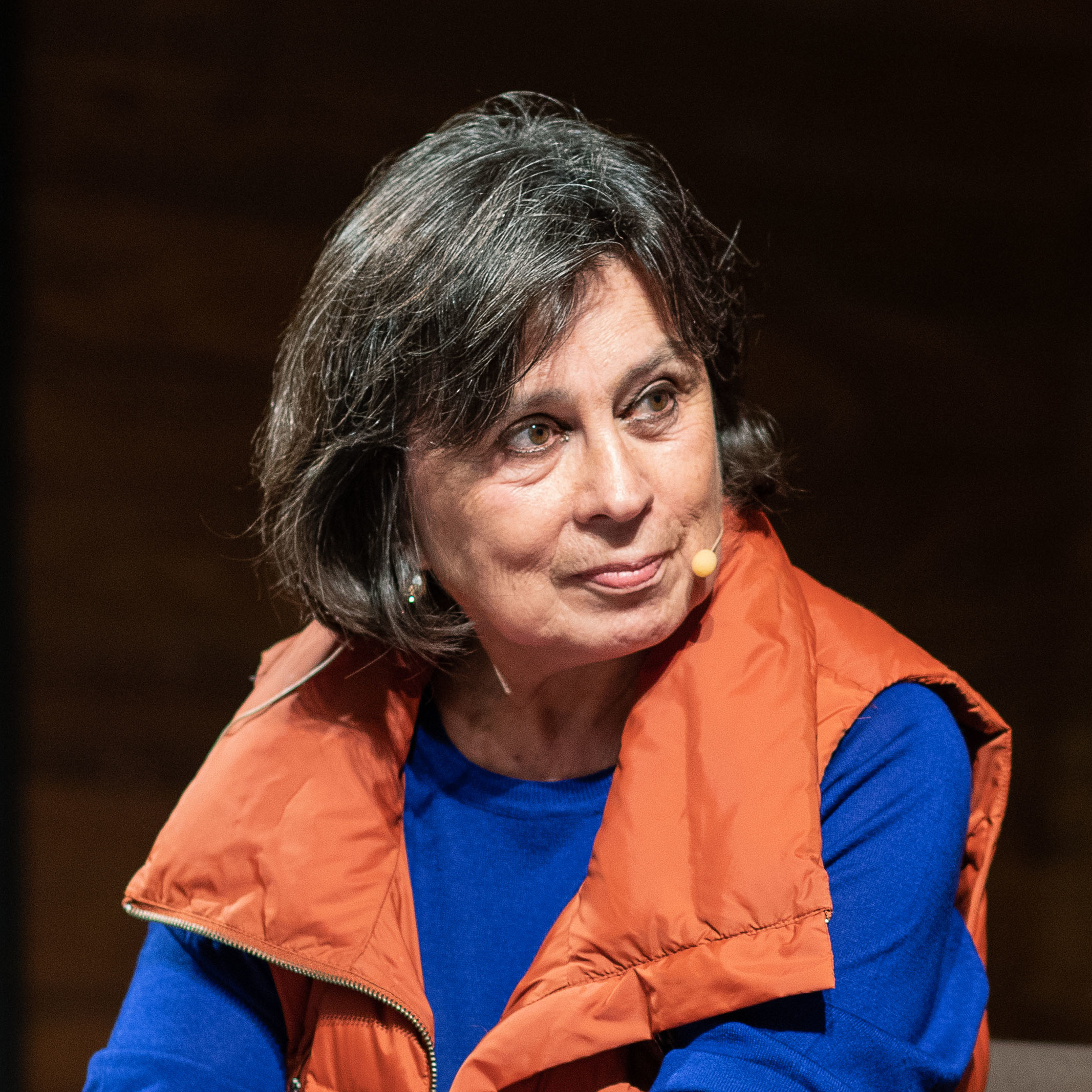 Restrepo at Literaktum literary festival 2018